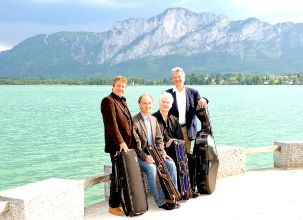 Auryn Quartett_Drachenwand ©Musiktage Mondsee