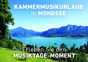 Kammermusikurlaub in Mondsee
